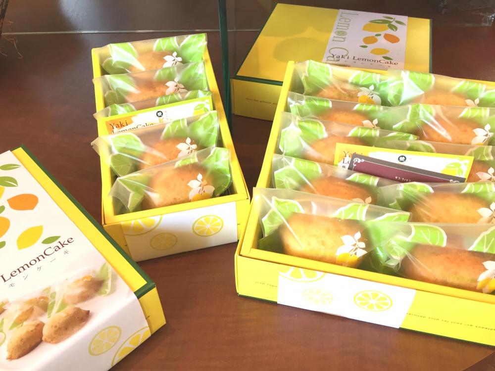 焼レモンケーキ箱入