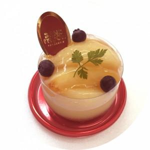 桃のタルト(丸抜き)