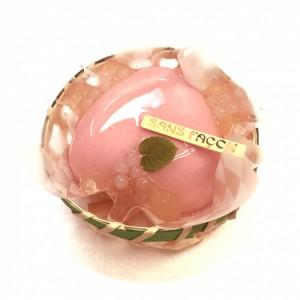 桃のムース(丸抜き)