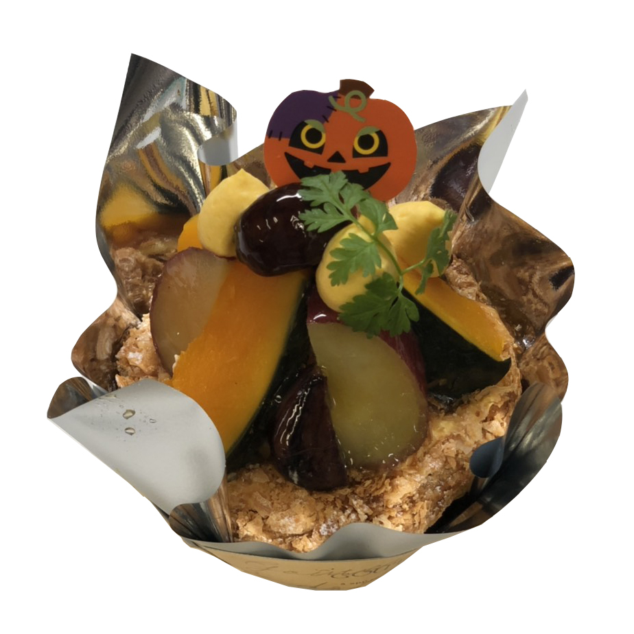 かぼちゃのカスターパイ